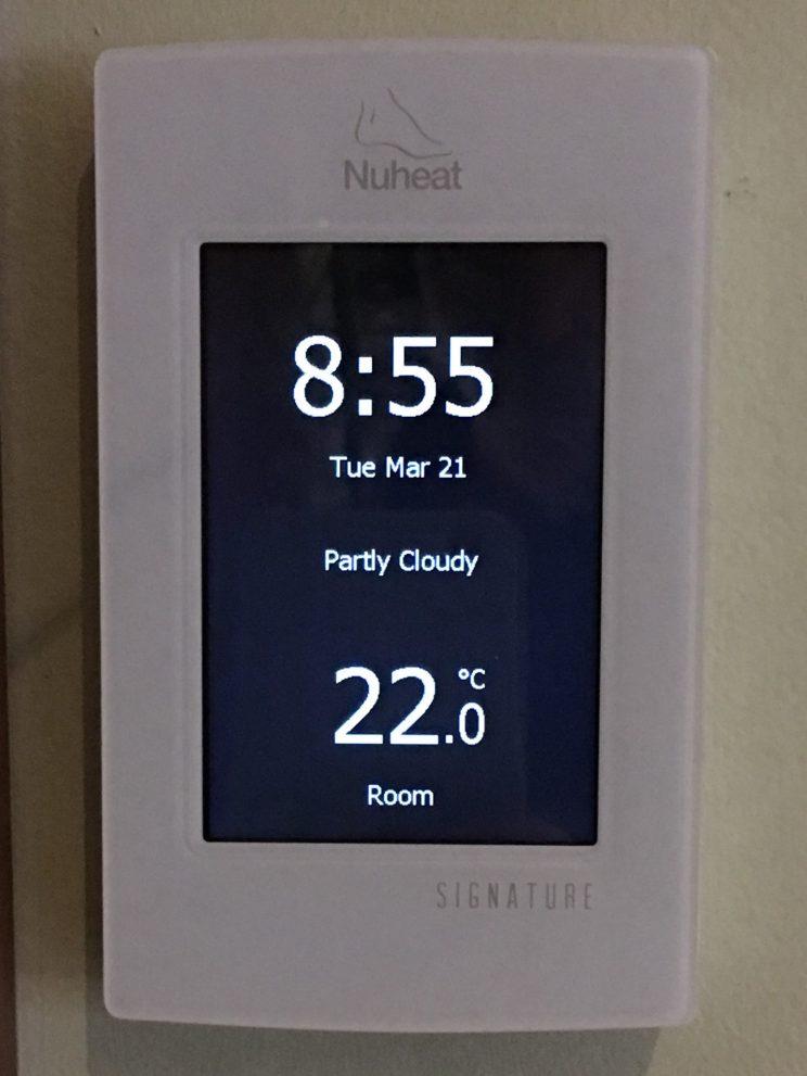 Nuheat Signature Thermostat image