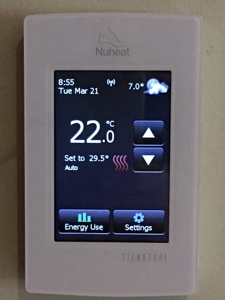 Nuheat Signature Thermo detail image